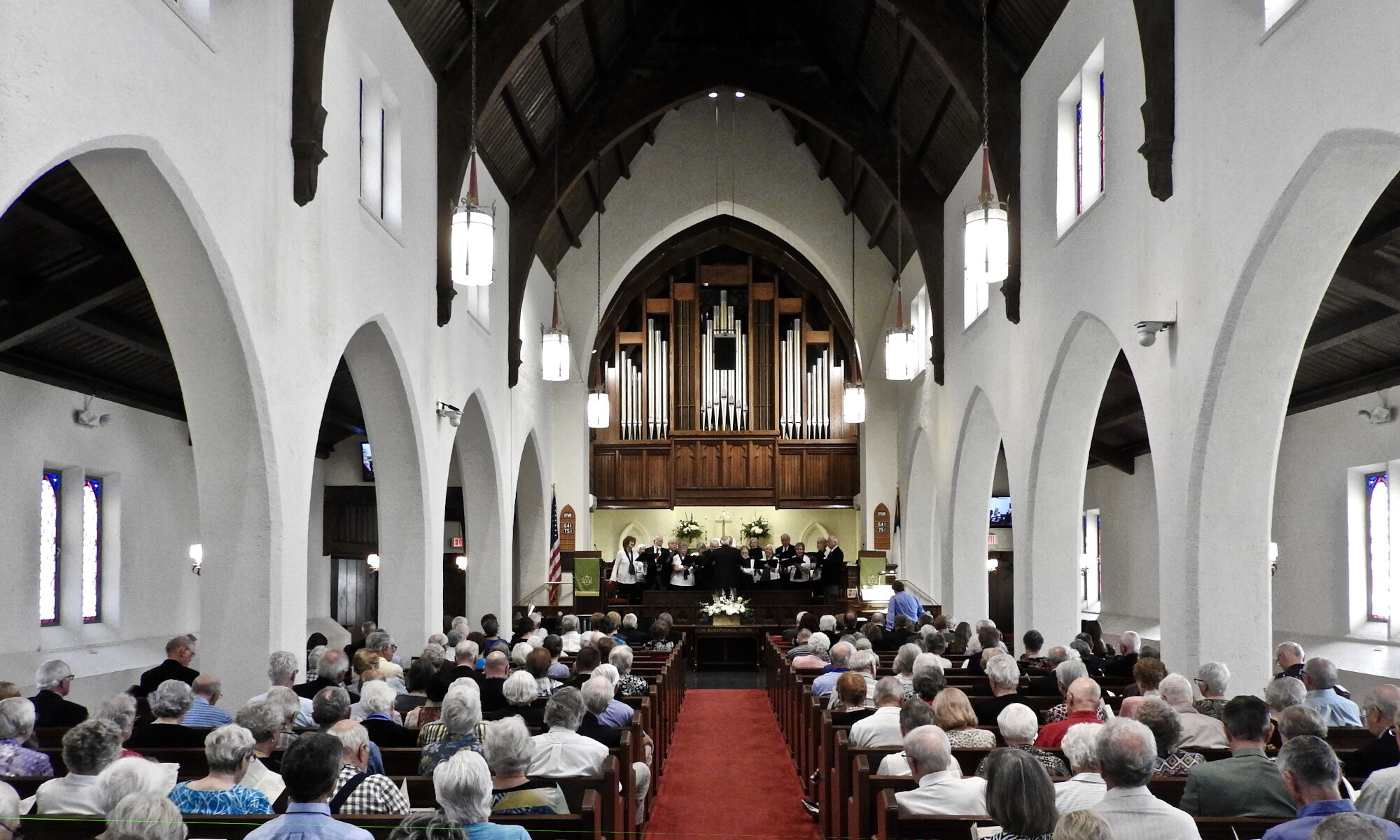 PMC Sanctuary with Congregation and choir